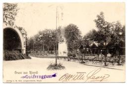 Tarjeta Postal Circulada De 1903 Gruss Aus Rheydt Kaiserpark - Alemania
