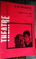 L'avant-scène Théâtre N 384 La Vie Sentimentale,louis Velle - La Dame Au Petit Chien,l Kobrynski - Auteurs Français