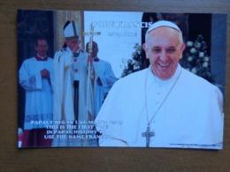 Christendom, Katholiek / Paus / Pope Francis --> Unwritten - Papes