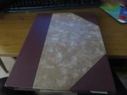 Classeur De Stockage 16 Feuilles 32 Pages 10 Bandes Par Pages Intercalaires Cristal - Large Format, White Pages