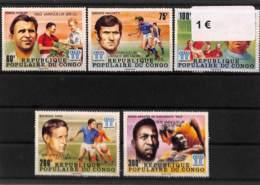 NB - [112240]TB//**/Mnh-Congo  -  Sports, Football - Soccer