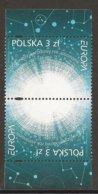 """POLOGNE /POLONIA / POLAND / POLSKA  - EUROPA 2009 - TEMA """"ASTRONOMIA"""" - 2 SERIES De 1  V.  DENTADAS - PAR INVERTIDO - Europa-CEPT"""