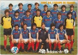 Football :  équipe De  France  1984 , L '  Euro - Soccer