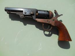 Colt SHERIFF MOD 1854, Cal 36 à Percussion Poudre Noire - Decorative Weapons