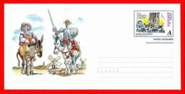 España. Spain. 1998. Escenas De Don Quijote De La Mancha. El Encantamiento - Enteros Postales