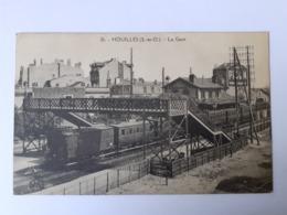 Houilles (78) La Gare - Gares - Avec Trains