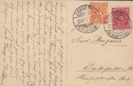 Poland Vorlaüfer Deutsches Reich PPC Herzliche Weihnachtsgrüsse Engel Angel ZAWADZKI Groos-Strehlitz Oberschlesien 1922 - Deutschland
