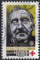 France 2019 Oblitéré Rond Used Street Art Visages Par Christian Guémy Alias C215 Timbre N° 4 Y&T 1726 SU - Oblitérés