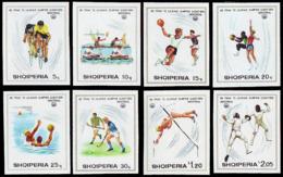 ** Albania - 1975 - Olympic Games 1976 - Mi. 1807-14B - Summer 1976: Montreal
