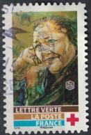 France 2019 Oblitéré Rond Used Street Art Visages Par Christian Guémy Alias C215 Timbre N° 10 Y&T 1724 SU - Oblitérés