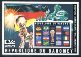 5123 - DAHOMEY - Block 23 B ** (Rechts Mittig Kugelschreiber ?) - FUSSBALL / FOOTBALL / SOCCER - Benin – Dahomey (1960-...)