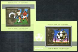 5124 - DAHOMEY - Block 38/39 Ungezähnt ** - GOLD-MARKEN / FUSSBALL / FOOTBALL / SOCCER - Benin – Dahomey (1960-...)