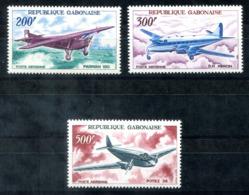 5127 - GABUN - Mi. 273-275 ** - FLUGZEUGE / PLANES - Gabun (1960-...)