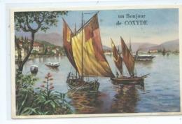 Koksijde Coxyde Un Bonjour ( Cachet De Koksijde  ) Ce N'est Pas Une Carte à Système !!! - Koksijde
