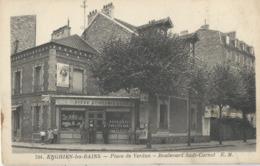Enghien Les Bains  Place De Verdun  Bd Sadi Carnot      Biere Dumesnil   Animation - Enghien Les Bains