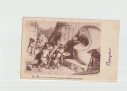 Le Rat Qui Sest Retire Du Monde - Fancy Cards