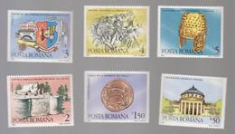 ARCHAEOLOGY, ROMANIA 1988, Set  COINS ROMANA,METEOPA TRAJAN COLUMN, - Archaeology