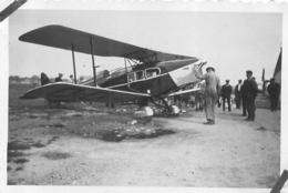 AVION FOX MOTH   PHOTO ORIGINALE - Aviación