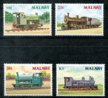 5138 - MALAWI - 481-484 ** - LOKOMOTIVE / EISENBAHN / RAILWAY / LOCOMOTIVE - Malawi (1964-...)