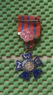 Medaille :Netherlands  -  Avond Vier Daagse - Nijmegen  / Vintage Medal - Walking Association - Nederland