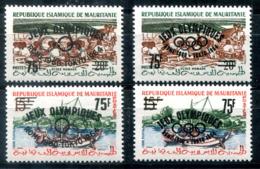 5140 - MAURETANIEN - Mi. I-II Beide Typen ** - OLYMPIA / OLYMPICS - Mauretanien (1960-...)