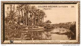 S9  ALGERIE  COLOMB BECHAR  10 X 6 Cm  (cliché De O.E. ) Africa  TRADECARD CHOCOLATE Afrique - Vieux Papiers