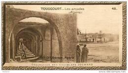 S9  ALGERIE  TOUGGOURT  ARCADES 10 X 6 Cm  (cliché De O.E. ) Africa  TRADECARD CHOCOLATE Afrique - Vieux Papiers