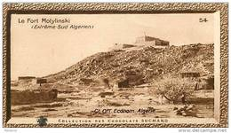 S9  ALGERIE  SUD  FORT  MOTYLINSKI  10 X 6 Cm  (cliché De O.E. ) Africa  TRADECARD CHOCOLATE Afrique - Vieux Papiers