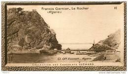 S9  ALGERIE  FRANCIS  GARNIER 10 X 6 Cm  (cliché De O.E. ) Africa  TRADECARD CHOCOLATE Afrique - Vieux Papiers