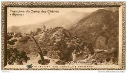 S9  ALGERIE  CAMP DES CHENES 10 X 6 Cm  (cliché O.E. ) TRADECARD Africa Afrique - Vieux Papiers