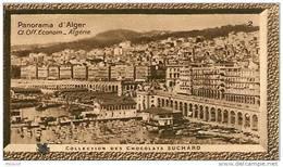 S9  ALGERIE PANORAMA  D ' ALGER 10 X 6 Cm  (cliché O.E ) TRADECARD Africa Afrique - Vieux Papiers