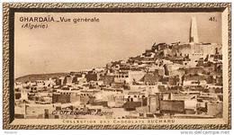 S9  ALGERIE  GHARDAIA  10 X 6 Cm  (cliché O.E.. ) TRADECARD CHOCOLATE Africa Afrique - Vieux Papiers