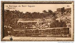 S9  ALGERIE  BENI ISGUEN  BARRAGE  10 X 6 Cm  (cliché O.E.. ) TRADECARD CHOCOLATE Africa Afrique - Vieux Papiers