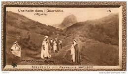S9  ALGERIE  CHELIF  HOMMES  OUARSENIS  10 X 6 Cm  (cliché O.E.. ) TRADECARD Africa Afrique - Vieux Papiers