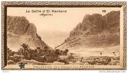 S9  ALGERIE  EL KANTARA  10 X 6 Cm  (cliché .O.E.. ) TRADECARD Africa Afrique - Vieux Papiers