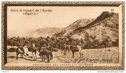 S9  ALGERIE  AURES 10 X 6 Cm  (cliché O.E. ) TRADECARD CHOCOLATE Africa Afrique - Vieux Papiers