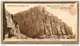 S9  ALGERIE  SUD  TAKOUMBARET 10 X 6 Cm  (cliché O.E ) TRADECARD CHOCOLATE Africa Afrique - Vieux Papiers