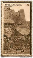 S9  ALGERIE  BOUDA 10 X 6 Cm  (cliché P.B. ) TRADECARD CHOCOLATE Africa Afrique - Vieux Papiers