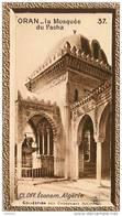 S9  ALGERIE  ORAN MOSQUEE PACHA 10 X 6 Cm  (cliché O.E..) TRADECARD CHOCOLATE Africa Afrique - Vieux Papiers