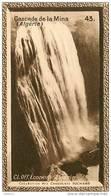 S9  ALGERIE  LA MINA  CASCADE 10 X 6 Cm  (cliché O.E.) TRADECARD CHOCOLATE Africa Afrique - Vieux Papiers