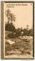 S9  ALGERIE  BOU SAADA  10 X 6 Cm (cliché O.E.) TRADECARD CHOCOLATE Africa Afrique - Vieux Papiers