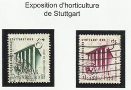Allemagne N° 632 à 633 Oblitérés De 1939 - Deutschland