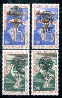 5142 - MAURETANIEN - Mi. VII-VIII Beide Typen ** (VII/I+II, VIII/I+II) - Mauretanien (1960-...)