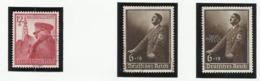 Allemagne N° 634 635 636 Oblitérés De 1939 - Germany