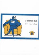 Buvard Ancien EDF Le Compteur Bleu - Electricity & Gas