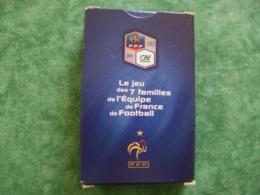 TRÈS RARE - JEU DE 7 FAMILLES DE L'EQUIPE DE FRANCE DE FOOTBALL. - Other