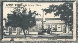 S9  LA REUNION SAINT DENIS  10,5 X 6,5cm TRADECARD CHOCOLATE Colonies Afrique - Vieux Papiers