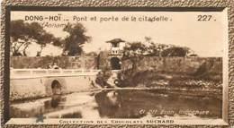 S9  ANNAM DONG HOI Citadelle Vietnam 10,5 X 6,5cm TRADECARD CHOCOLATE Colonies Asie - Vieux Papiers