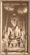 S9  LAOS  BOUDDAH De LUANG PRABANG 10,5 X 6,5cm TRADECARD CHOCOLATE Colonies Asie - Vieux Papiers