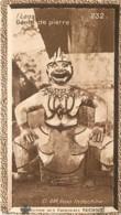 S9  LAOS  GENIE DE VAT ARAM  10,5 X 6,5cm TRADECARD CHOCOLATE Colonies Asie - Vieux Papiers